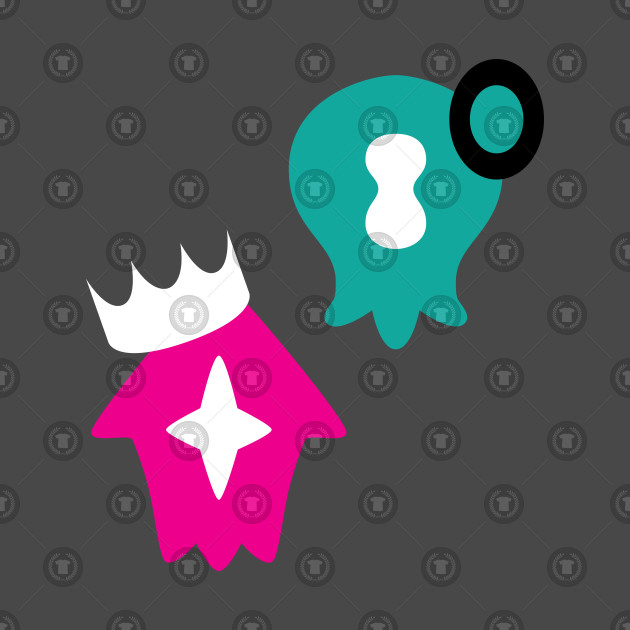 Splatoon 2 Pearl and Marina symbols