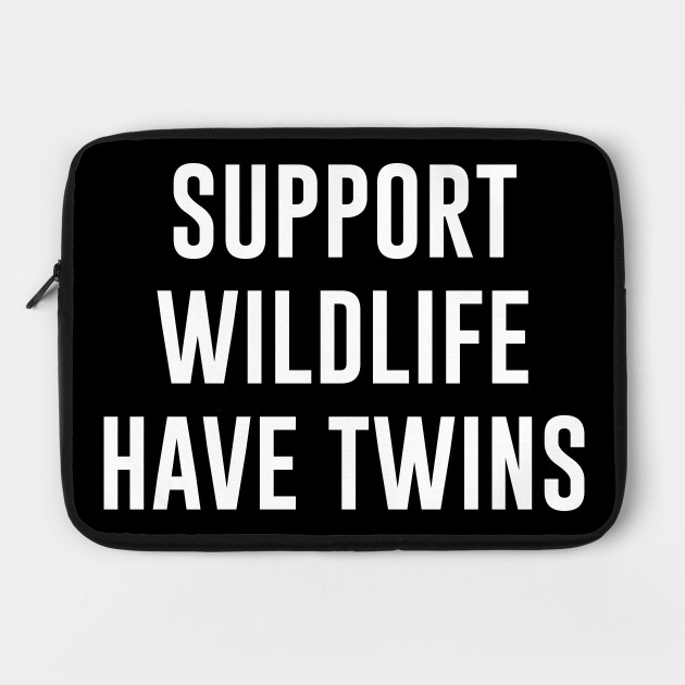 Support wildlife have twins