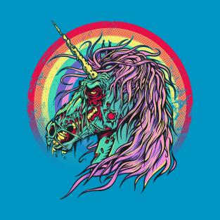Zombie Unicorn t-shirts