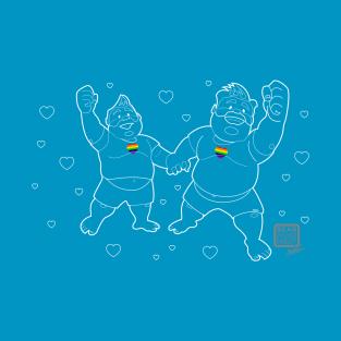 Love Wins! t-shirts
