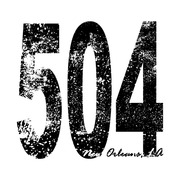 what city and state is area code 504