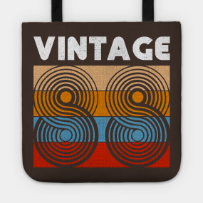 30th Birthday Gift Vintage 1988 30 Years Old Present Tote