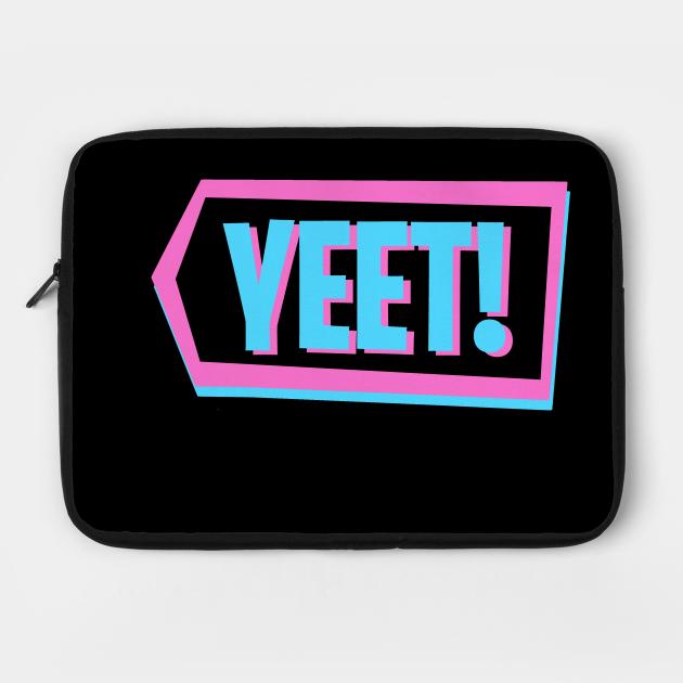 YEET! Blue Pink Neon