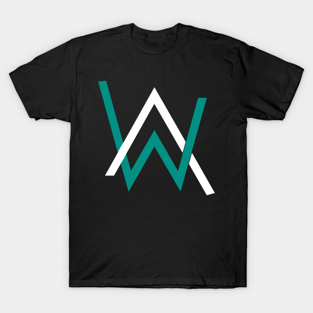 015d01663 Alan Walker Logo - Alan Walker - T-Shirt | TeePublic
