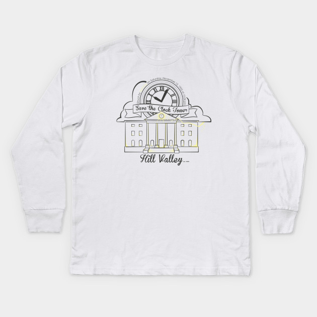 594b5e49 Save the Clocktower (for light color shirt) Kids Long Sleeve T-Shirt
