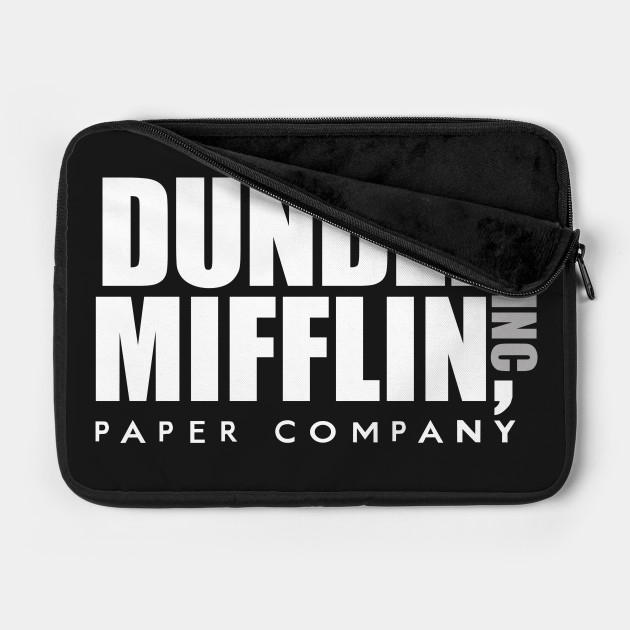 Dunder Mifflin Inc Paper Company Office Logo