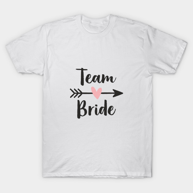 298380c7bf7be Team Bride Heart Amor Arrow Hen Party