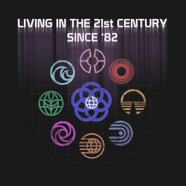 Symbols of the 21st Century Epcot