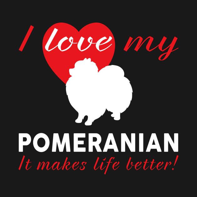 Pomeranian Gift T Shirt For Dog Lovers Pomeranian Gift For Dog
