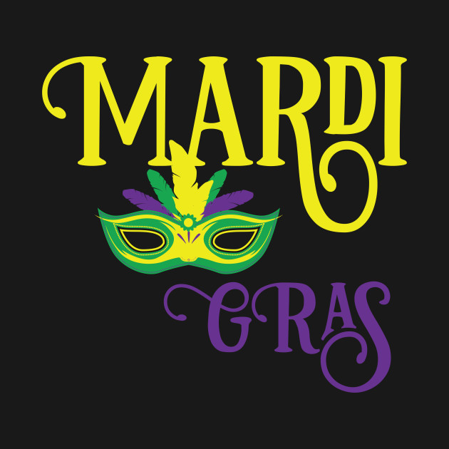 becd208fe57478 Mardi Gras Mask Design for the Family - Mardi Gras - T-Shirt | TeePublic