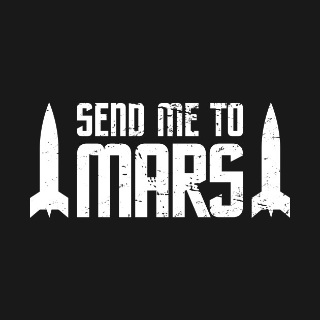 Space Travel Mission To The Planet Mars