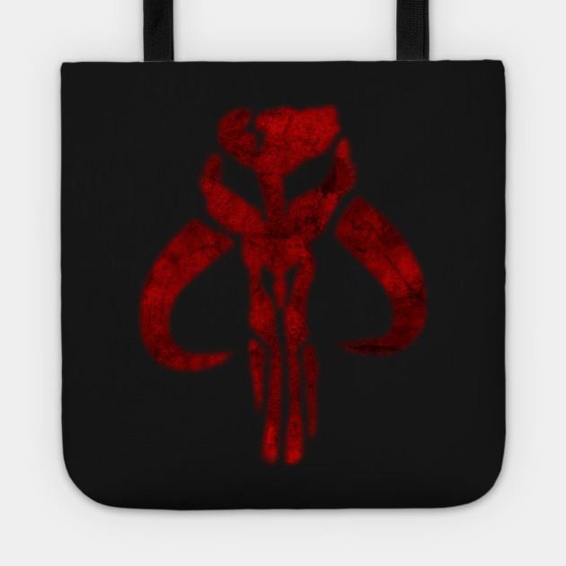 ff2fa46ff Mandalorian Symbol - Boba Fett - Tote | TeePublic