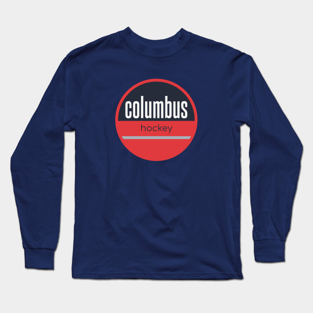 columbus blue jackets long sleeve shirt