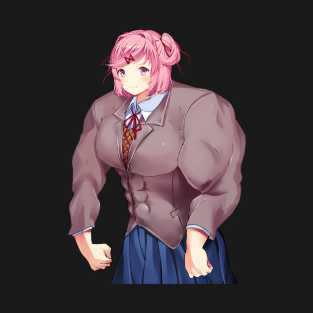 Buff anime girl