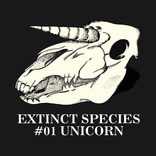 Exctinct Species #01 Unicorn (White Type)