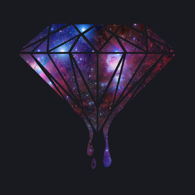 5d90d0fc3 Galaxy Diamond - Universe - T-Shirt | TeePublic