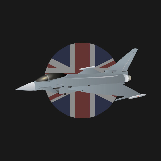 AUTOCOLLANT STICKER AUFKLEBER BRITISH AEROSPACE EUROFIGHTER COMBAT AIRCRAFT