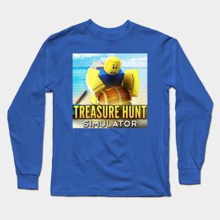 Treasure Hunt Long Sleeve Shirts Teepublic Uk - how to get a auto clicker for roblox treasure hunt simulator