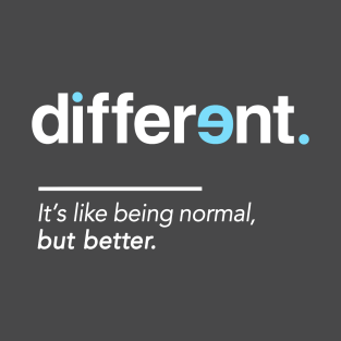 Autism t shirts teepublic be different shirt for autism awareness month t shirt urtaz Image collections