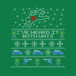 Ugly Sweater, Christmas Sweater I've Heard It Both Ways t-shirts