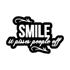 smile more stickers teepublic