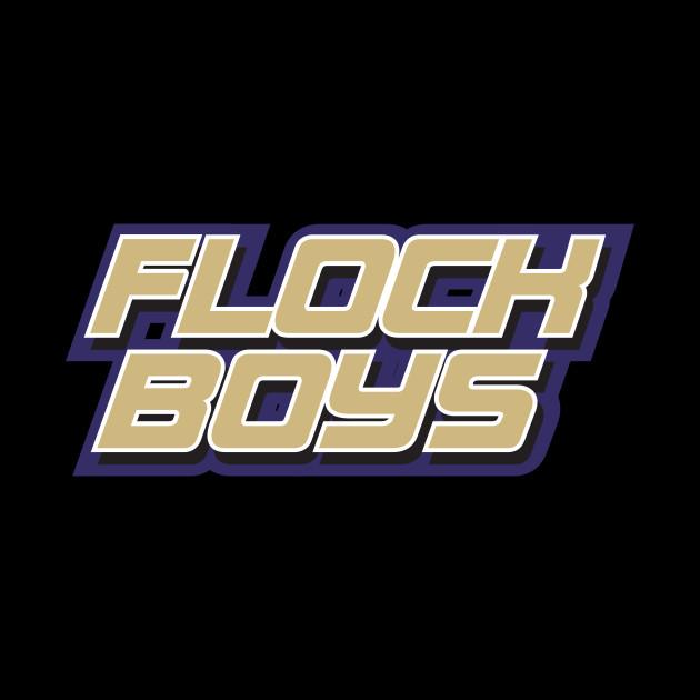 Flock Boys Baltimore Ravens