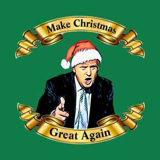 make christmas great again t shirt