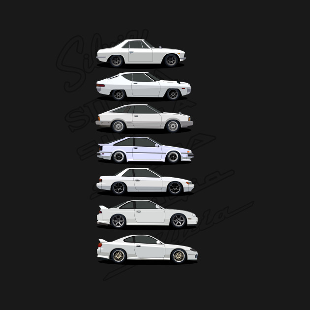 Nissan Silvia Generations