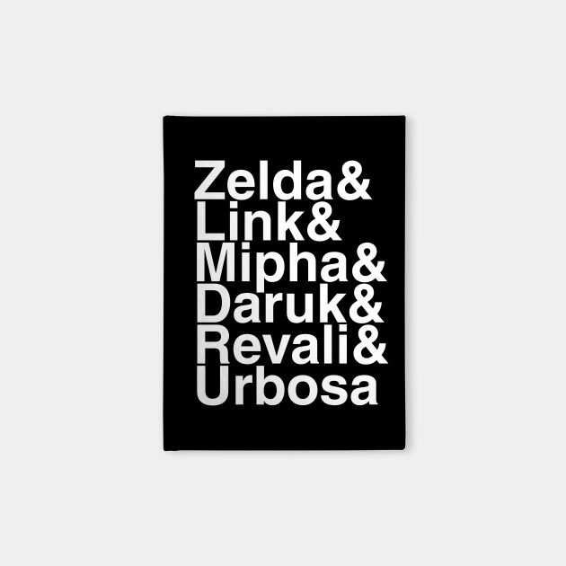 Breath Of The Wild Champions Helvetica List