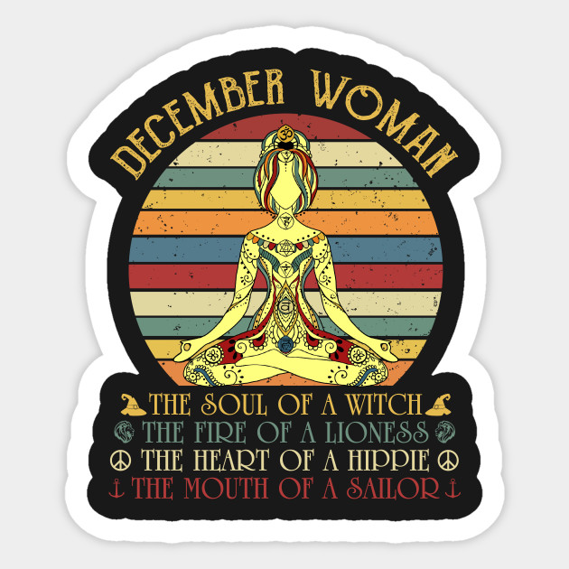 December Woman The Soul Of A Witch Mouth Of A Sail