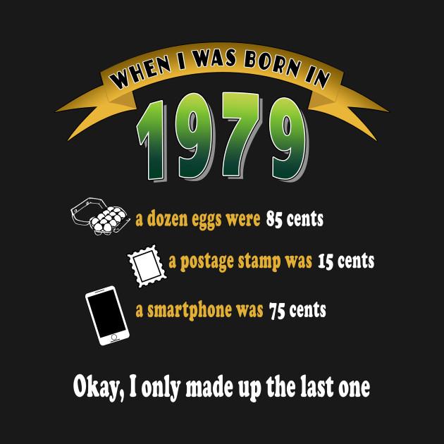 In 1979 Funny 40th Birthday Shirt Gift