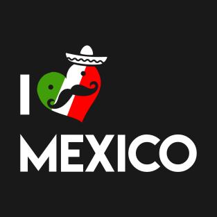 I Love Mexico t-shirts