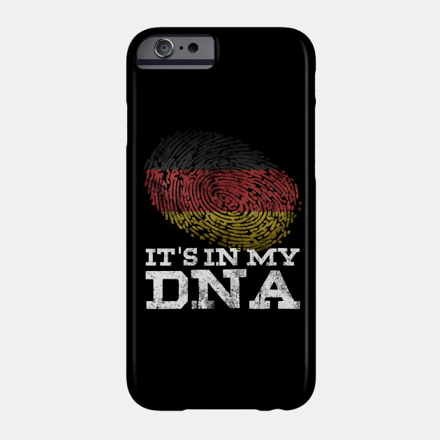 It's In My DNA German T-Shirt Germany Flag Deutschland Gifts Phone Case