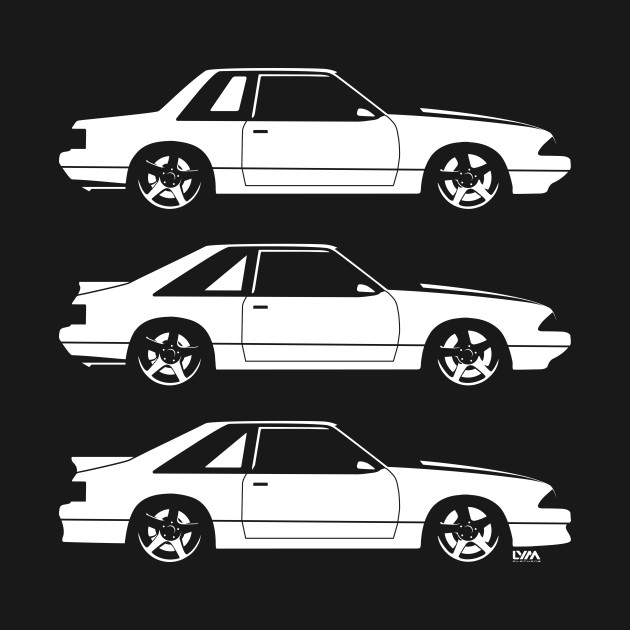 Fox Body Ford Mustang Mustang T Shirt Teepublic