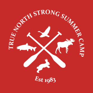 True North Strong Summer Camp (2) t-shirts
