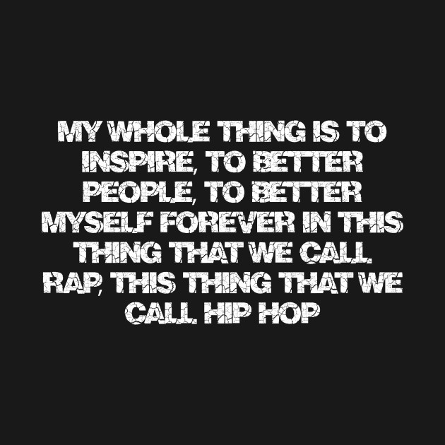 hip hop, rap lyrics fan gift