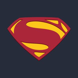 Man of Steel Superman Emblem t-shirts