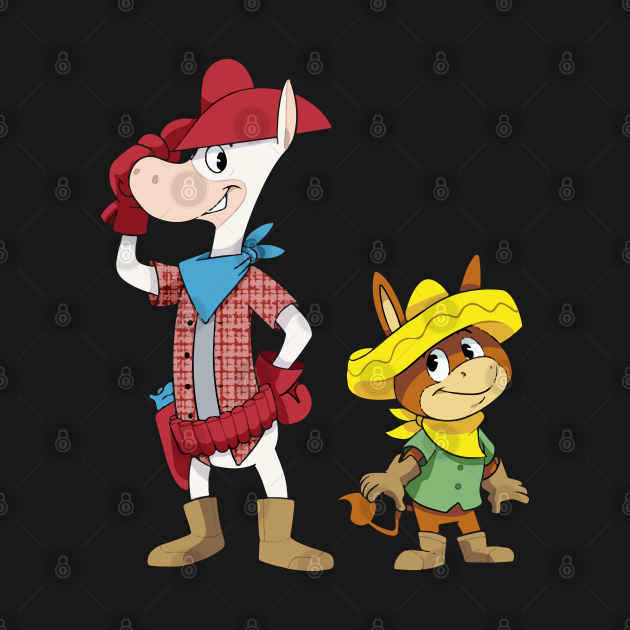 Quick Draw McGraw & Baba Looey