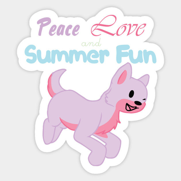 Peace Love and Summer Fun