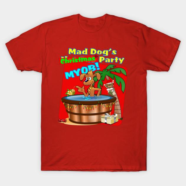 Dog Christmas Sweater.Mad Dog S Christmas Party