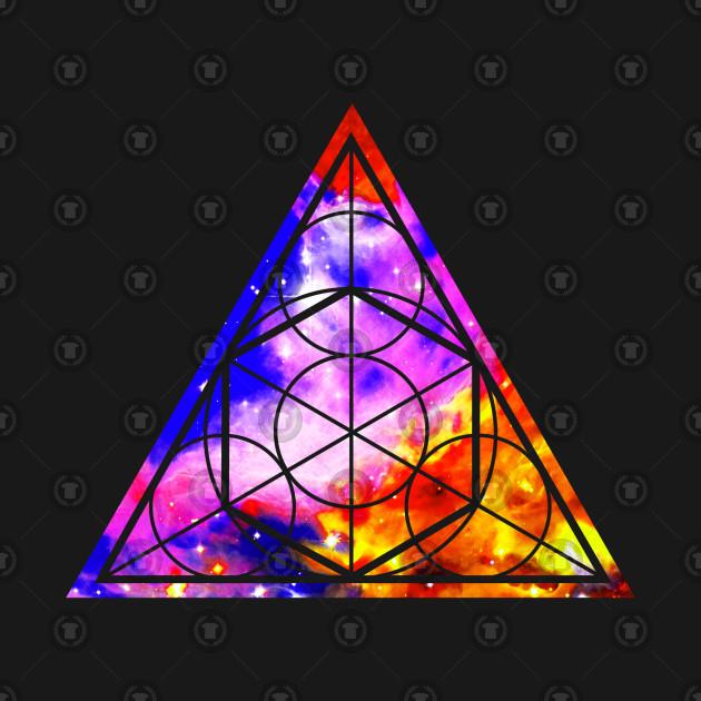 sacred geometry triangle triangle t shirt teepublic