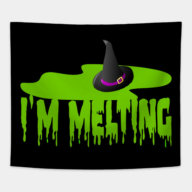 Im Melting Wicked Witch Of The West The Wizard Of Oz Tapestry