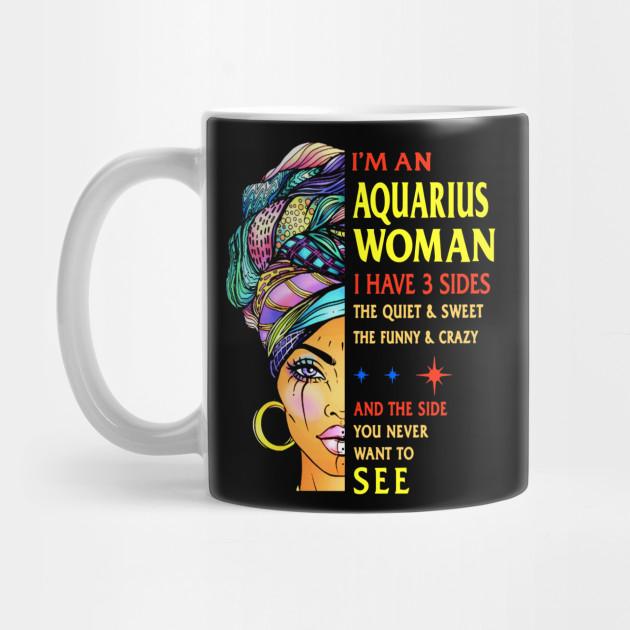 Aquarius woman i have 3 sides october