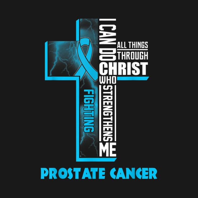 fight prostate cancer with Christ