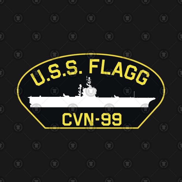 USS Flagg Patch