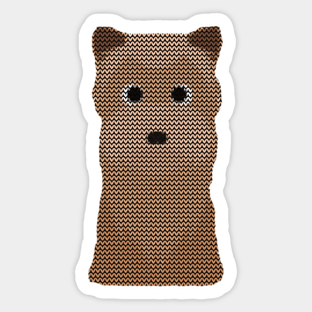 Yorkshire Terrier Ugly Christmas Sweater Knit Pattern - Yorkshire ...