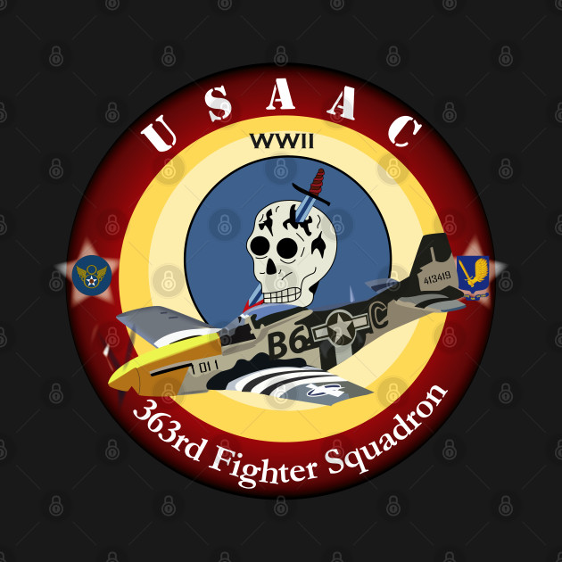 363rd Fighter Squadron - P51 Mustang