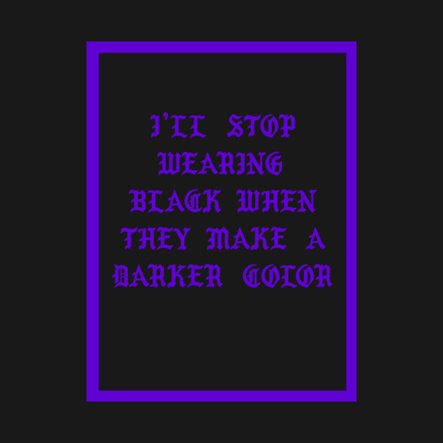 d3331e60bfd0d ... Fall Out Boy I ll Stop Wearing Black When They Make A Darker Color  Purple
