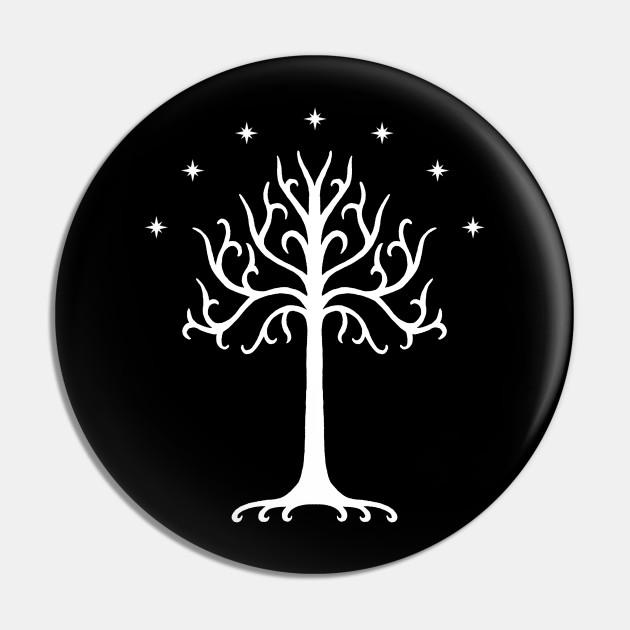 White Tree of Gondor (White)