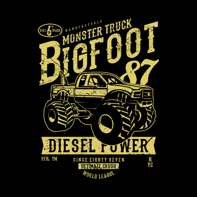 Monster Truck Bigfooter Classic Trucks